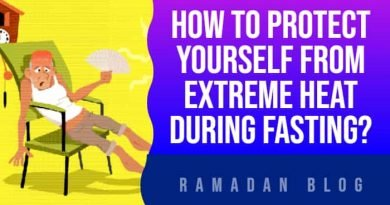 How To Protect Yourself From Extreme Heat During Fasting