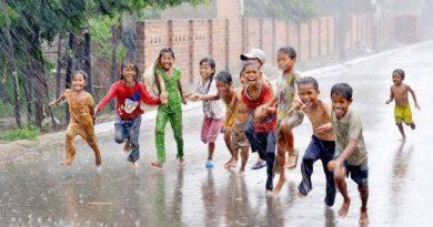 Rainy Season Enjoy the Rain but Caution Is Required