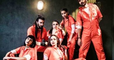 Is '50 Crore' film a copy of the web series 'Money Heist'